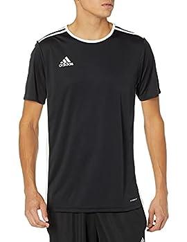 adidas Men s Entrada Jersey Black/White Medium