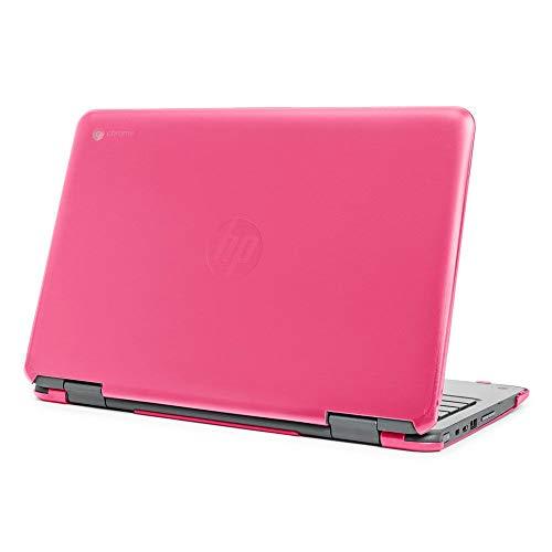 mCover Funda rígida para portátiles HP Chromebook X360 11 G3 EE (no compatible con HP Chromebook X360 11 G1 EE / G2 EE) (rosa)