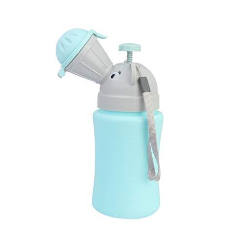 NUOBESTY bebè portatile di emergenza per orinatoio auto per auto orinatoio portatile vasino per urinare strumento di emergenza toilette per bambini ragazzo
