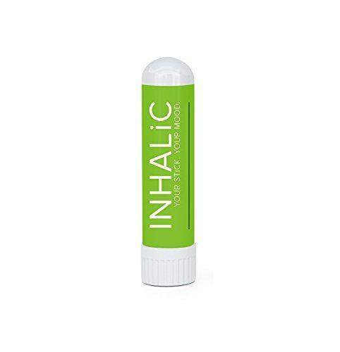 Nasen Spray Ersatz von INHALIC Cold & Pain Inhalierstift 3g I Natürliches Erkältungsmittel I 100% BIO mit ätherischen Ölen I Für unterwegs im 2er Pack I Effektiv & Schnellwirkend