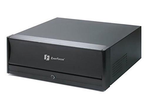 ENR400-PRO Everfocus, 4-Kanal Netzwerkrekorder (erweiterbar bis 32 Kanäle mit ENR-U4 Lizenzen), Verwaltung von Megapixel / IP Kameras und Videoservern untersch. Hersteller