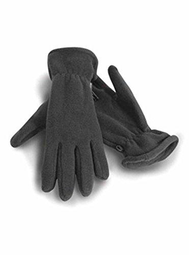 Result - gants polaires ACTIVE FLEECE GLOVES R144 - mixte homme/femme - coloris GRIS CHARCOAL - taille L