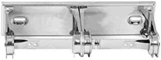 Taymor 01-F1030 Surface Mount Double Fixed Rod Toilet Tissue Holder, Polished Chrome
