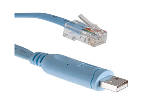 Cable Adaptador de Consola USB a RJ45