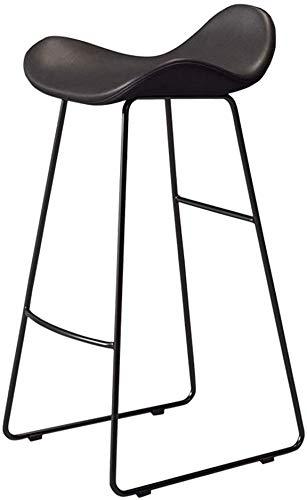 EUGAD 2pcs Sgabelli da Bar Sedia Alta da Cucina Moderna con Schienale Poggiapiedi Vintage Imbottiti Morbidi Gambe in Ferro Grigio Chiaro 0615BY-2