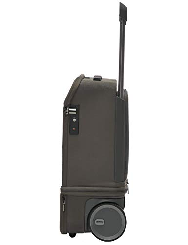 Carry-On   Kabuto   55cm Vertically extendable to 75cm, Cabin Authorized Powerbank, Laptop Compartments, Silent Wheels, TSA Fingerprint   Graphite