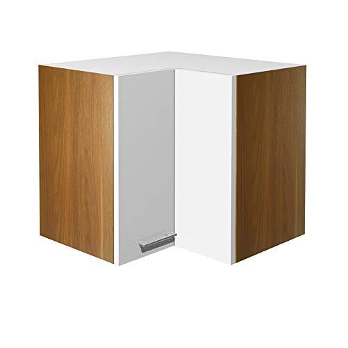 Flex-Well Küchen-Eckhängeschrank COSMO - Hängeschrank - 2-türig - Breite 60 cm - Weiß