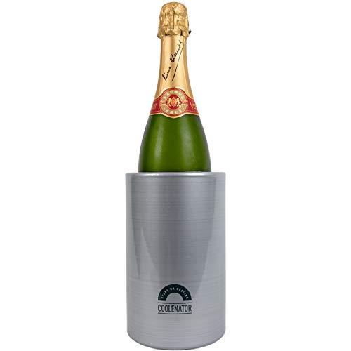 Coolenator Nr. 1 Coolster Champagnerkühler & Weinkühler – Kühlt Getränke aktiv für bis zu 4 Stunden – Platz für alle großen Wein-, Champagner-, IPA-Flaschen und Spezialbiere.