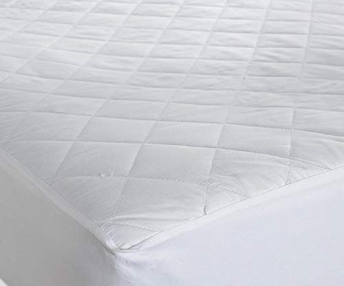 AmigoZone Waterproof Quilted Microfibre Mattress Protectors Water Resistent, Non Allergenic Fully Fitted -Double