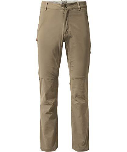 Craghoppers M Nosilife Pro II broek beige, heren donsbroek, maat 32 - Regular - kleur Pebble