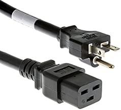 CablesAndKits Heavy Duty AC Power Cord,(Cisco P/N CAB-7513AC=), 20A/125V, 12 AWG, 5-20P to C19, (NEMA 5-20P to IEC-60320-C19) 15 ft