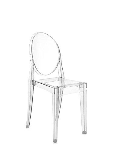 Kartell - Victoria Ghost - transparent - Philippe Starck - Design - Esszimmerstuhl - Küchenstuhl - Speisezimmerstuhl