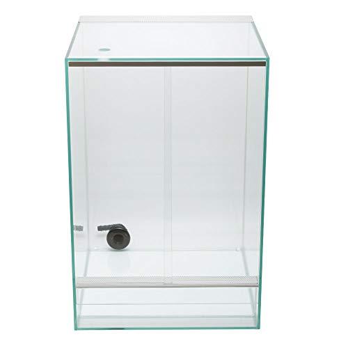 ZERO PLANTS Square Cage/PRO スクエアケージ プロ 【 SC-3045-PRO 】 【 パルダリウム、ビバリウム、テラリウム、コケリウムに最適なガラスケージ/排水機能付/水槽 】