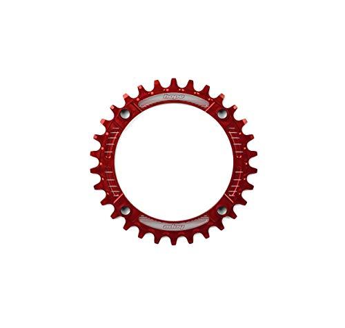 Hope E-Bike Kettenblatt 1x10,11,12 - Fach 36 Zähne 104mm rot