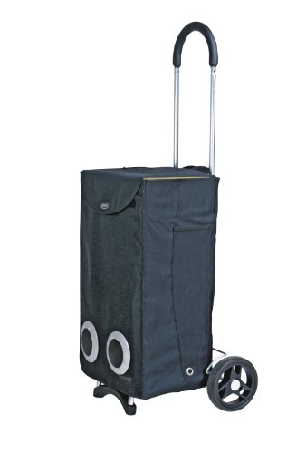 EZetil Elektrokühltasche ESC36 S 12V Shopping Trolley, Schwarz, 36x21x94,5 cm