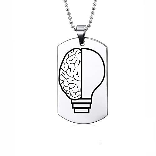 Collar de acero inoxidable - Lámpara de cerebro