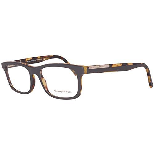 Ermenegildo Zegna EZ5030 54020 Brillengestelle Ez5030 020 54 Rechteckig Brillengestelle 48, Grau