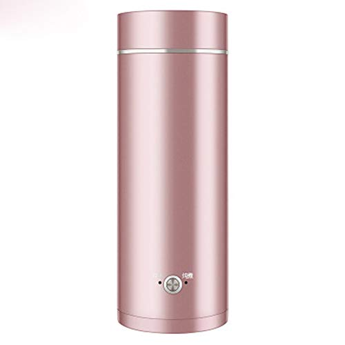Xfc Tragbare Reise Elektro Wasserkocher, Mini Edelstahl-Thermos Smart-Teekanne Heizung Cup Milch Boiling Boiler,A