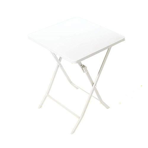 N/Z Living Equipment Couchtisch Beistelltisch - Runder Gartentisch im Look - Eisentisch Geeignet für Gartenterrasse und...