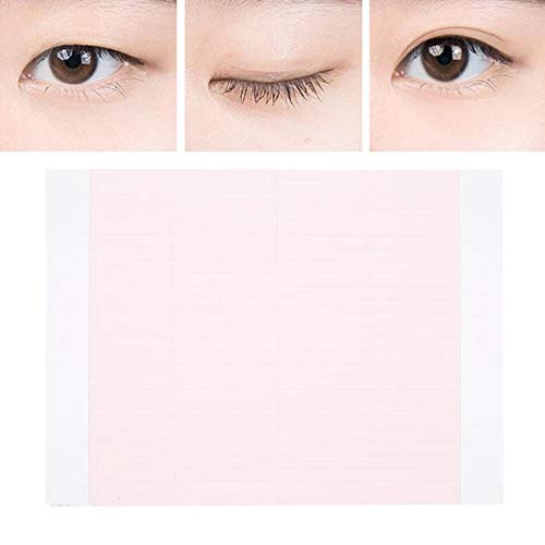 Eyes Stickers Invisible Double Eyelid Tape Natural Eye Cosmetic Makeup Tools Pink
