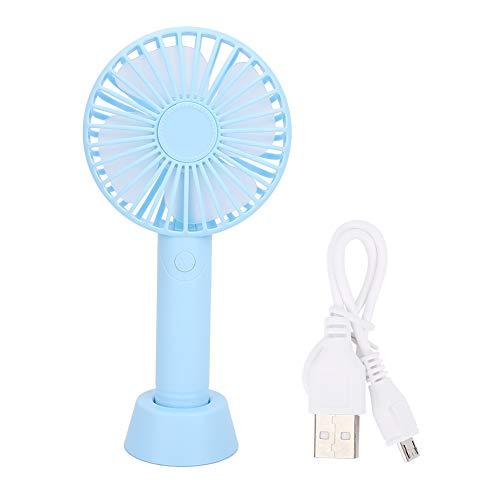 SUYANG Desktop USB Mini Soporte De Mano De Mano para Enfriar Y Ventilación (Azul)
