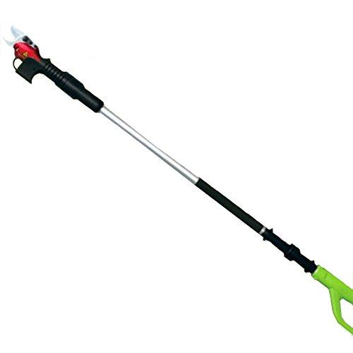 Yatek EL46002 Ciseaux électriques télescopiques avec batterie et mallette 3 tailles différentes jusqu'à 2,1 m
