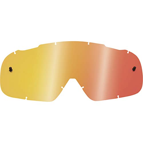 Fox Racing Main Adult Replacement Lens Motox/Off-Road/Dirt Bike Motorcycle Eyewear Accessories - Red Spark/One Size