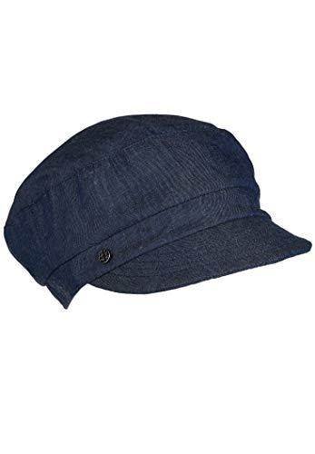 LOEVENICH Damen Schirmmütze, Cap, Farbe Blue-Denim