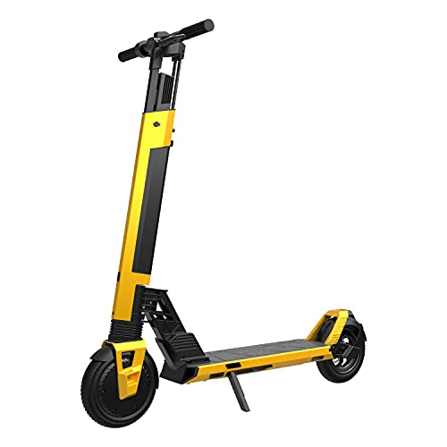 Hiboy NEX5 Electric Scooter, 19 MPH & 34 Miles Long-Range, Detachable Battery, Folding Electric Scooter for Adults with 350W Motor, 8.5 inch Solid Tire, Commute and Travel