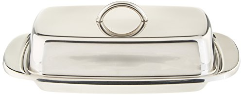 plastic double butter dish - 4