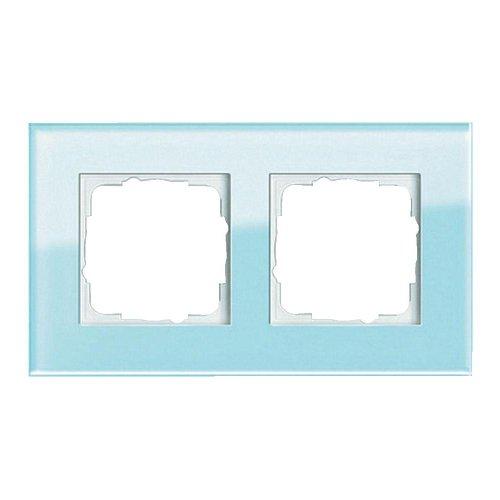 Gira 021218 021218 Rahmen 2-Fach Esprit Glas, Mint