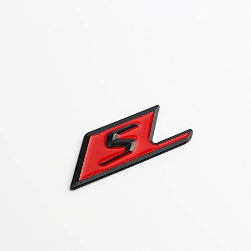 Auto Aufkleber Sticker Badge Anwendbar Mercedes-Benz AMG Modified Standardendstück C63S E63S SAMG,Color4
