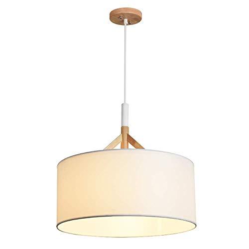 JINHUADAI Nordic lampadario Camera da Letto in Legno lampadari Singolo a Testa creatività Artistica Bar Cafe Ristorante lampadario Moderno soffitto Solido Minimalista