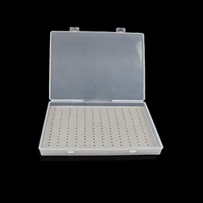 Aventik Super Large Capacity Clear Lid Plastic Fishing Box Slim Fly Boxes Competition Fly Fishing Box by Aventik