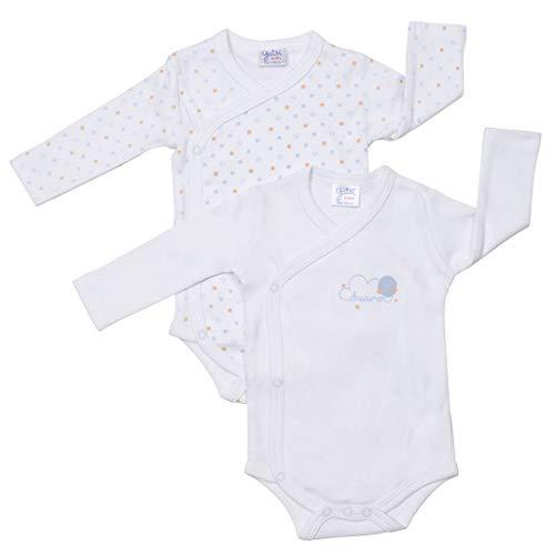 YATSI - Bodi Bebe Pack/2 bebé-niños Color: Surtido Talla: 3M