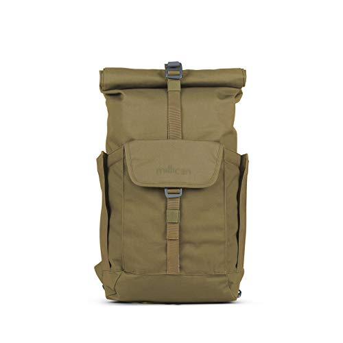 Millican Smith Roll Pack 15L WP Rucksack, Moss