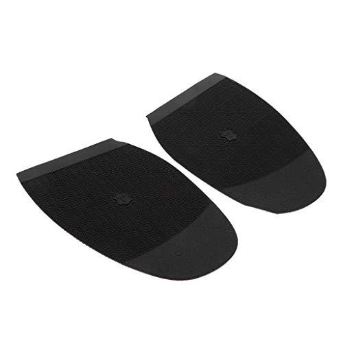 Bonarty Herramientas de Reparación de Calzado Tacones Y Medias Suelas de Goma de Repuesto para Talón