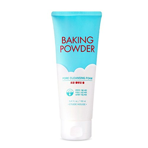 Etude House Baking Powder Pore Cleansing Foam, 160ml, 5.41oz.