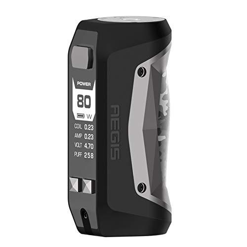 Preisvergleich Produktbild Geekvape Aegis Mini 80W Mod 2200mah wasserdicht,  stoßfest und staubdicht,  unterstützt USB-Aufladung,  kein Nikotin,  kein E-Liquid (camo & gunmetal)
