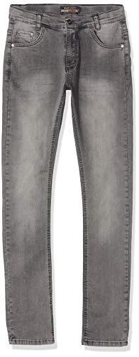 Blue Effect  0226 Jungen Ultrastretch Jeans, Grau (Grey denim), 152