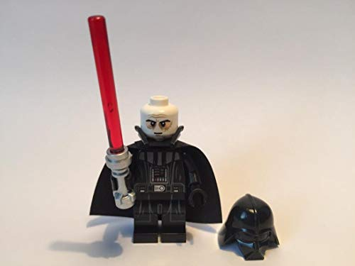 LEGO Star Wars Minifigur Darth Vader with Lightsaber NEW VERSION (TYP 2 Helmet) out of 75093