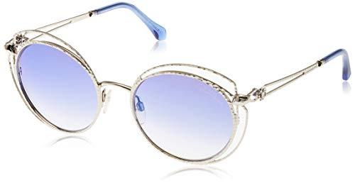 Roberto Cavalli Rc1030-16X-Silber Gafas de sol, Plateado (Silver), 55.0 para Mujer