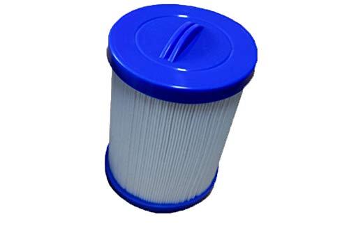 DDJX Cartouche De Filtre pour Piscine, Filtre De Piscine pour Enfants/Spa Baignoire Papier Massage Lavable (1Pcs),Blue