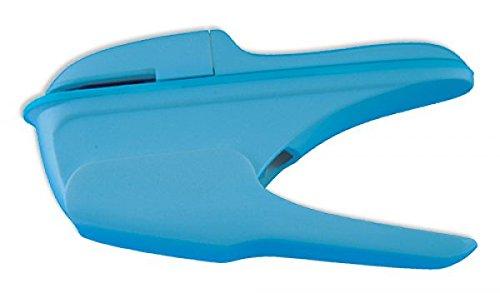 "TimeTEX Heftzange ""klammerlos"" - ca. 14 cm - blau - 60027"