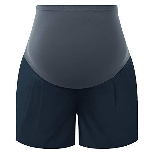 Damen Fitness Shorts Yoga Jogging Hose mit Taschen Yoga Shorts Laufshorts Fitness Trainingsshorts MCS02028-3_2XL