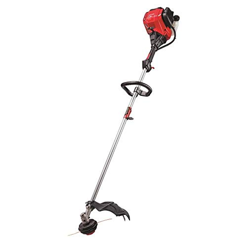 Review Of CRAFTSMAN WS410 30-cc 4-Cycle 17-in Straight Shaft Gas String Trimmer with Attachment and ...