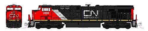 Kato N Scale 176-8939 GE ES44AC GEVO Locomotive CN #2952