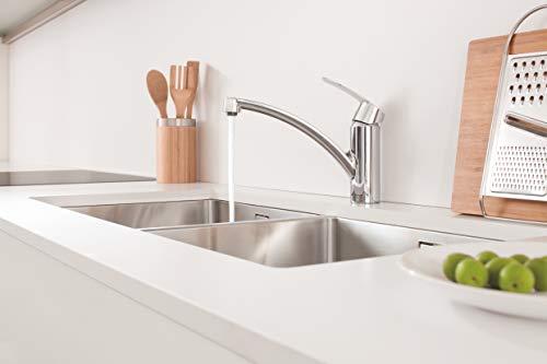 Grohe – Start Küchenarmatur, Schwenkbereich 140°, Easy Exchange Mousseur, Chrom - 3