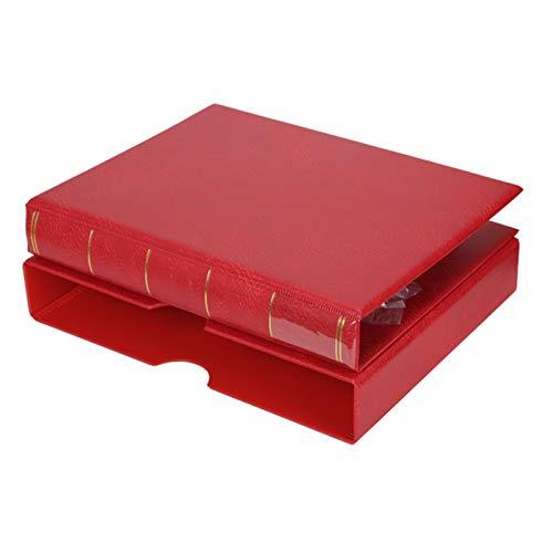 zzjj Briefmarkenalbum,mit großer Kapazität leeres Album Münzalbum Briefmarkensammlungsalbum Gedenkalbum Briefmarkenalbum mit Klarsichtstreifen Briefmarken für Sammler