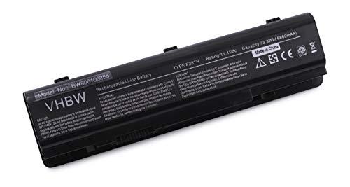 Batterie LI-ION 6600mAh 11.1Vpour Dell Inspiron remplace 0F286H, 0F287H, 0G066H, 0G069H, 0R988H, 312-0818, 451-10673, DP-01072009